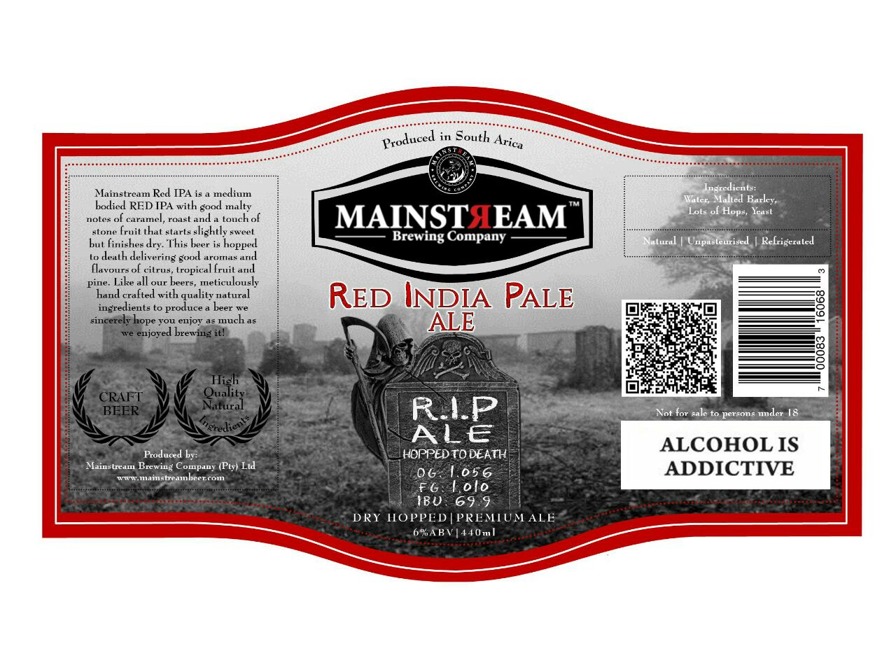 Red India Pale Ale